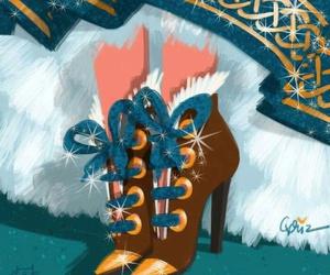 shoes, disney, and merida image