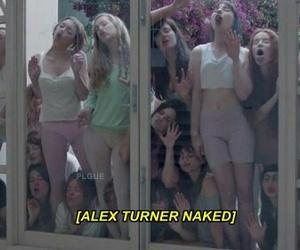 alex turner, arctic monkeys, and girls image
