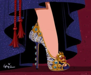 shoes, snow white, and disney image