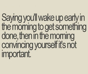 funny, morning, and quote image