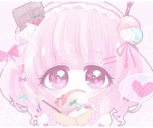 adorable, beautiful, and chibi image