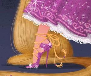 disney, rapunzel, and shoes image