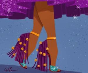 disney, shoes, and esmeralda image