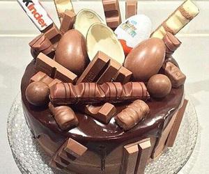 cake, dessert, and kinder image