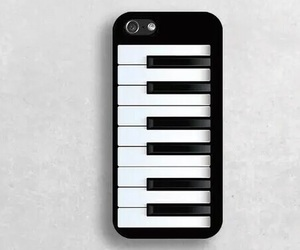 iphone and piano image