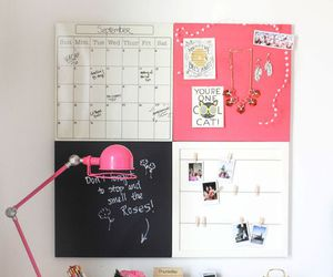 desk, room, and diy image