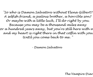 quotes, damon salvatore, and tvd image