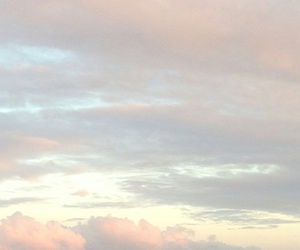 clouds, pastel, and aesthetic image