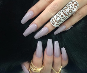 nails, accessories, and girls image
