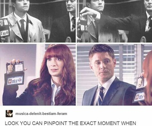 charlie, dean winchester, and fbi image