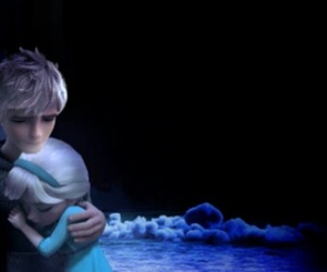 frozen, rise of the guardians, and jack and elsa image