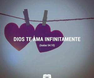 god, citas biblicas, and love image