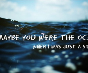 ocean, photography, and quotes image