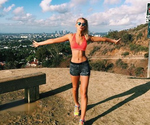 fitness, healthy, and nike image