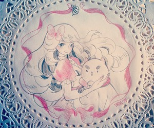 art, cute, and bee and puppycat image