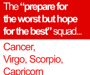 astrology, cancer, and scorpio image