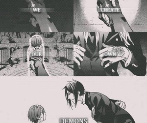 demon, phantomhive, and ciel image