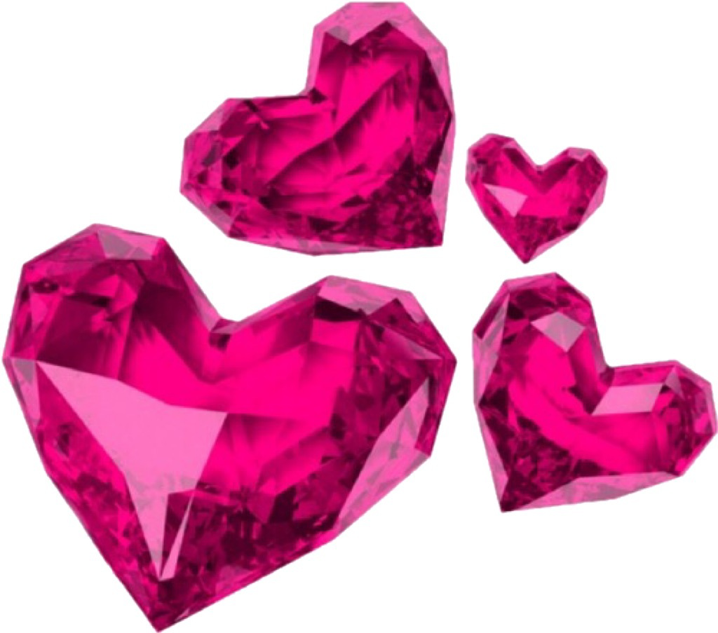 pink, heart, and overlay image
