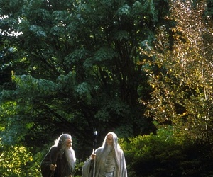 lord of the rings, gandalf, and wizard image