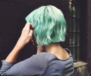 hair, grunge, and short hair image