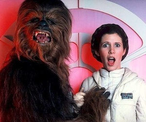 star wars, chewbacca, and funny image