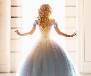 cinderella, princess, and dress image