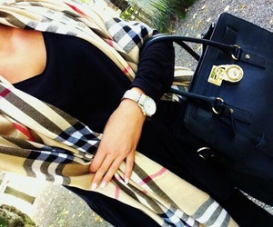 fashion, Burberry, and outfit image