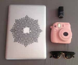 macbook, apple, and chanel image