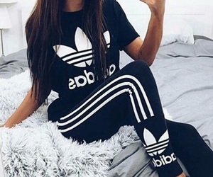 adidas and love image