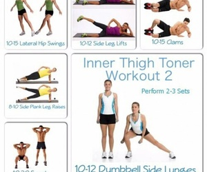 thighs, exercise, and fitness image