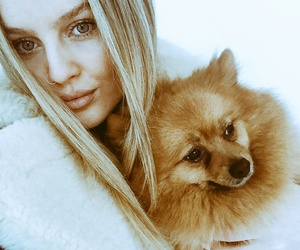 little mix, perrie edwards, and puppy image