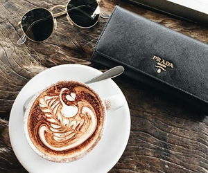 coffee, Prada, and drink image