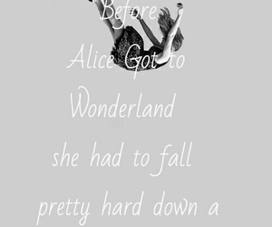 alice, alice in wonderland, and fall image