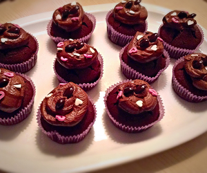 chocolate, coffee, and cupcakes image