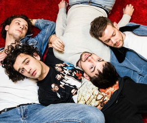 the 1975, music, and adam hann image