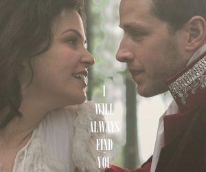 david, prince charming, and snow white image