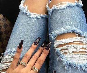 dope, nails, and style image