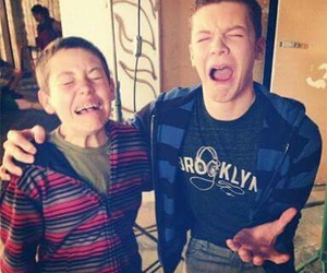 behind the scenes, carl gallagher, and shameless us image