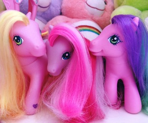 my little pony, pink, and vintage image