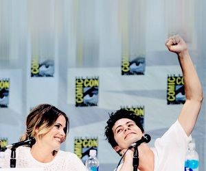dylan o'brien, teen wolf, and shelley hennig image