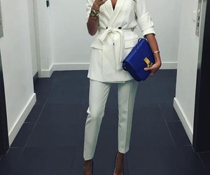 suit and white image