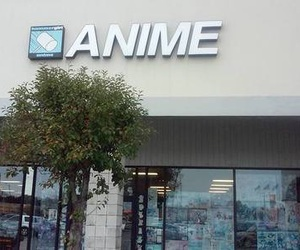 anime, love, and building image