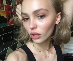 model, lily rose depp, and instagram image