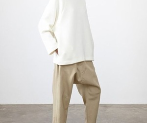 baggy, minimalistic, and outfit image