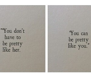 quote, pretty, and her image