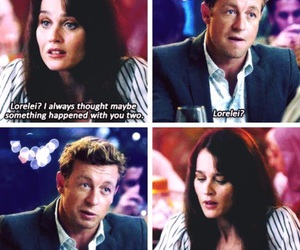 simon baker, the mentalist, and robin tunney image