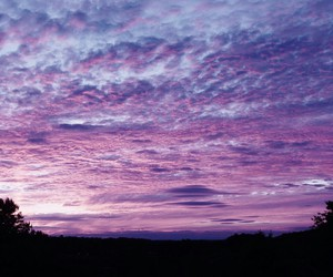 sky, purple, and wonderful image