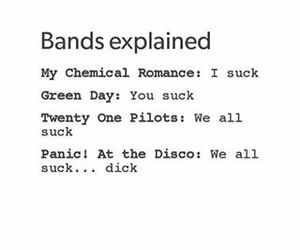 band, funny, and green day image