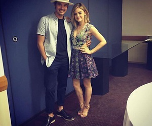 lucy hale, tyler blackburn, and pll image