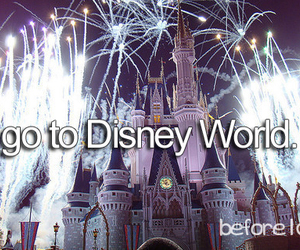 before i die, disney world, and disney image